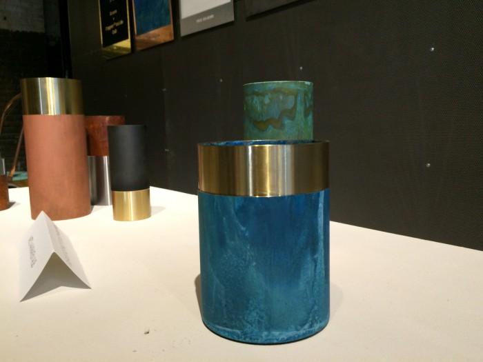 Kazerne True Colors Kupfer Vasen von Lex Pott für &tradition