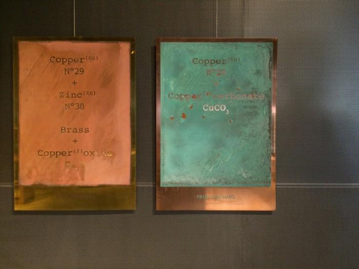 Kazerne True Colors Tafeln von Lex Pott für &tradition