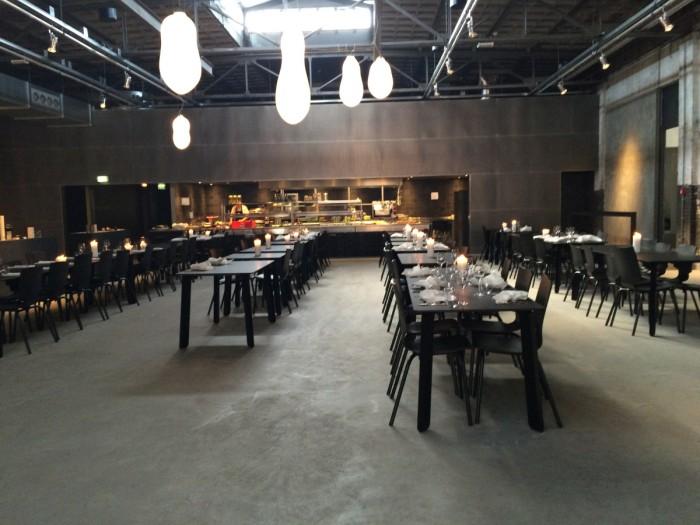 Kazerne Ansicht Restaurant