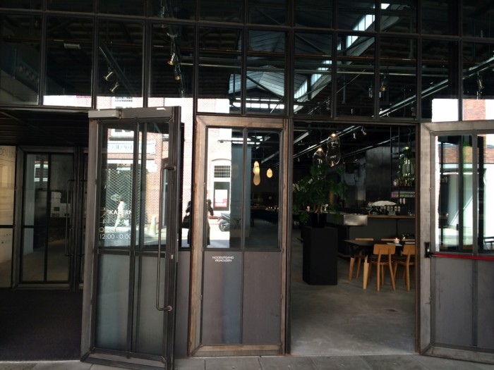 Kazerne Eingang